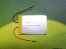 3.7V 2000mah Li-polymer battery /Li-polymer battery 3.7V /rechargeable Li-polymer battery