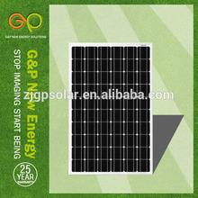 TUV,IEC,CE,ISO,MONO crystalline low price high efficiency solar panel 250 watt
