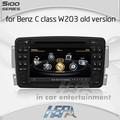 Hepa coche que labra autoradio gps reproductor de dvd de mercedes benz C W203 Vaneo Viano Vito A-W168 CLK C209 W209 G W463