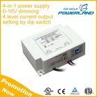 CE UL Approved 50W 1050mA 1400mA 1750mA 2100mA 4 Level Output 0-10V Dimmable Led Driver Power Supply