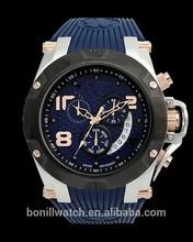 2015 Custom silicone rubber wristband watch unisex,watch silicone