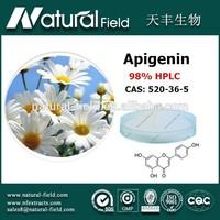 Small order welcome NF supply chamomile p.e.apigenin powder