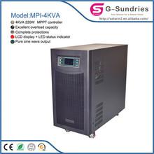High power high quality long life 1000w-25KW solar panel polycrystalline dc to ac solar inverter