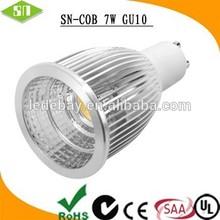 Low price in china market ww nw cw colour tempeture7W cob spotlight gu10