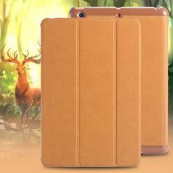 Case For iPad MIni 2, Deer Grain Leather Flip Case For Apple iPad Mini 2, For iPad Mini 2 Case Smart Cover