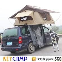 Luxury waterproof hard floor camper trailer tent