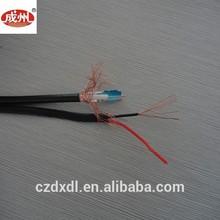 Hot sale RG59/96+P cable center core copper condcutor CCA screen cable