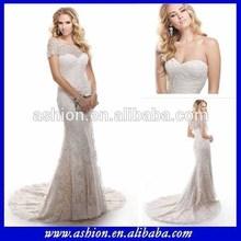 We-2614 optional bolero kristall perlen brautkleid abnehmbare spitze jacke marokkanischen hochzeitskleid