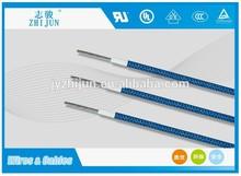 ul certificate 3122 silicone rubber fiberglass braid insulation electric lead wire