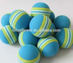 2015 New Design Rainbow Practice Sponge Golf Balls