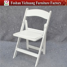 plastic folding chair/rental general used home furniture/outdoor cheap lightweight plastic chair for event YC-A01-04
