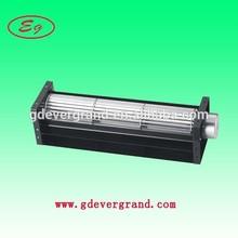 12 volt 24 small mini micro centrifugal cross flow fan 12v (EC60240S(B)24H-R/L) 60x240mm aluminum 24v axial air