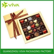 New design handmade cardboard candy chocolate box