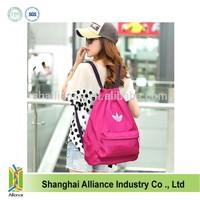 OEM Silk Screen Printing Nylon Sport Drawstring backpack, Cheap Gym Cinch Sack