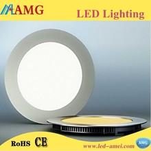 2015 New Hot Sale AC85-265V 18W Round LED Panel Light Bright Lightness Slim Led Light Panel