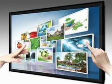 large screen!!58inch android advertising display wifi/3G/Wired