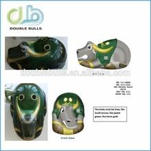 Factory wholesale cheap custom PVC halloween party funny cute full face bull mask