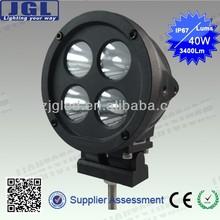 Hot sale 40w led work light,automobile driving light for atv 4x4,truck ,boat,forklift,excavator,jeep