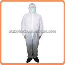disposable PP non woven coverall,PP non woven disposable coveralls,disposable pp non woven overalls