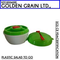 BPA FREE Carry plastic FDA salads On the Go