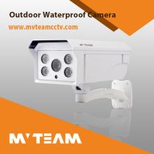 New 4pcs LED Array Waterproof 100m IR Distance Analog Camera