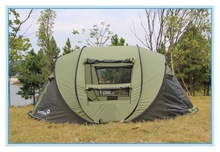 2015 sell hot design 4-6 person Pop Up family camping Tent adult pop up tent