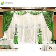 Magnificent Wedding Ceremony Luxury Backdrop Curtain Decoration