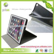 TPU soft case for iPad air 2,TPU case for iPad 6