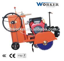 WKC600 concrete cutter road cutter with HONDA GX 630, concrete groove cutter