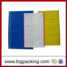 Alibaba China wholesale 60x90cm PP woven bag wheat flour bag, flour sack, polypropylene woven bag pp wheat bag