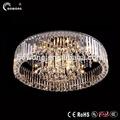 El brillo de la lámpara de techo, ronda de led lámpara del techo, elegante para el hogar novedad led de cristal de la lámpara de techo