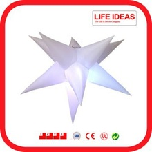 party decoration color changing 6 feet inflatable star