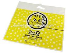 Custom Printed Plastic Bag Cheap Die Cut Plastic Carrier, High Quality Plastic packaging Bag,Printed Custom Shopping Bags