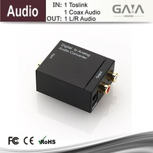 Coaxial Digital Optical Toslink zum analogen RCA Audio Converter - Digital-Analog-Audio-Konverter