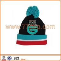 custom patch winter beanies hat for adults no minimun