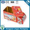 Dongguan car shape metal toy packaging box