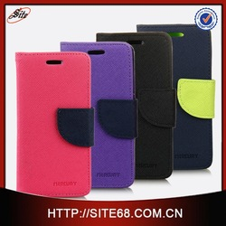 TPU+PU leather color change back cover for iphone 5C
