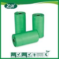 custom printed disposal hdpe biodegradable plastic garbage bag