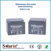2015 new and hot portable solar battery 12v 100ah lead acid solar battery