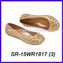 pvc crystal sandals jelly beans shoes golden plastic sandals