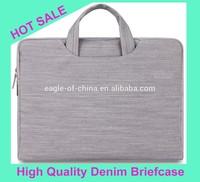 Hot-selling 13 Inch Denim Laptop briefcase