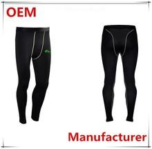Manufacturer OEM Fitness Running Pants, Fashion Gym Wear Compression Running Pants For Men