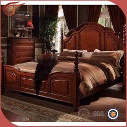 elegant solid wood king size bedroom set furniture