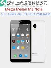 """Original Meizu Meilan M1 Note 5"""" 1920*1080px 2GB RAM Android 4.4 13.0MP 4G LTE MTK6752 Octa Core 3140mAh"""