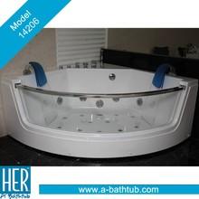 Como function massage bathtub, Corner Massage Bath Tub, Acrylic Massage Bathtub 14206