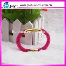 2015 fashion new design mesh stardust magnetic bracelet for women