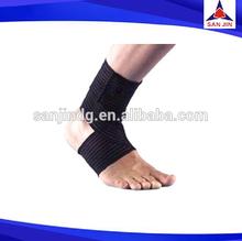 Sport Basketball Ankle Foot Elastic Brace Support Wrap Neoprene Adjustable Black ankle support as seen on tv