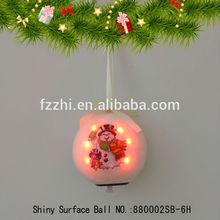 Latest Product Flash LED Light Ball Christmas Tree Decoration Hanging Ball