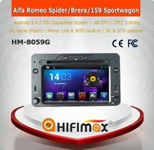 HIFIMAX Android 4.2.2 Car DVD For ALFA ROMEO 159 gps dvd