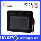 digital writing tablet UG 6370 6x4 inch high quality sign panel